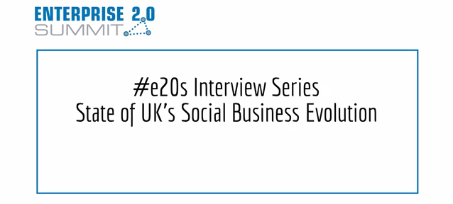 Alan Patrick on the state of social business in the UK – #e20s interview series